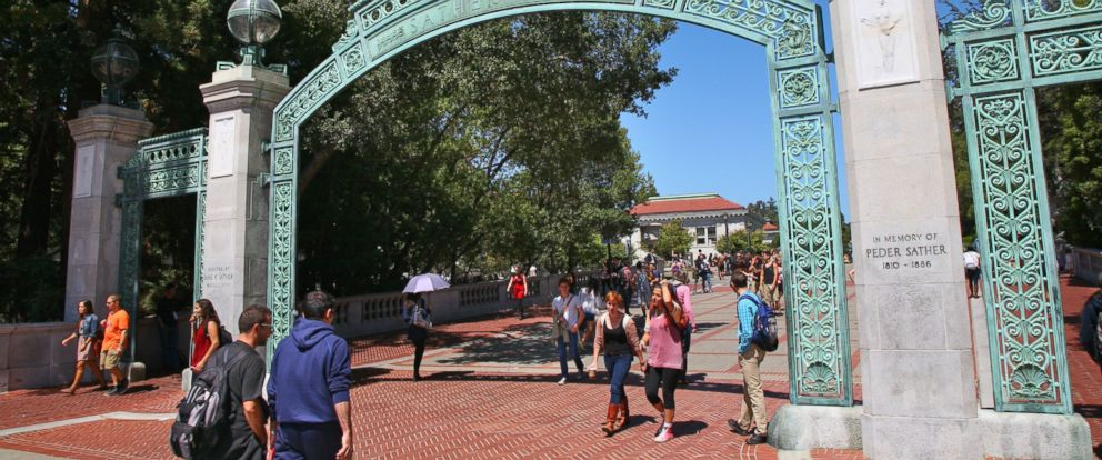 PHOTO: The Sather Gate at the University of California, Berkeley is pictured in an undated stock photo.