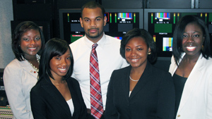 PHOTO The Howard University ABC News on Campus bureau in Washington, D.C.