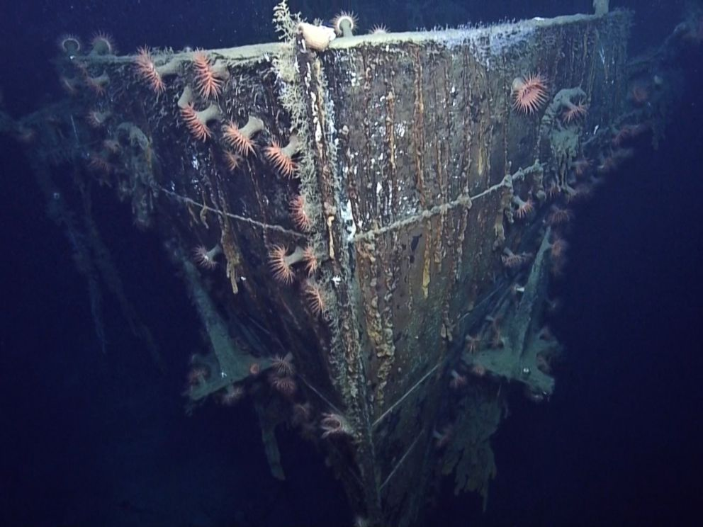 PHOTO: The Robert E. Lee, a passenger steamer that was attacked en route from New Orleans to Trinidad, is seen in this image made from the A Tale of Two Wrecks: U-166 and SS Robert E. Lee video.