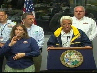 VIDEO of Crist vowing to keep pressure on BP, do all it takes to keep beaches pristine