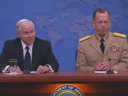 VIDEO of Gates and Mullen Weighing in on Change of Command