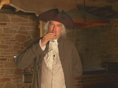 VIDEO of Mount Vernon, where George Washingtons rye whiskey recipe is being recreated for public consumption.
