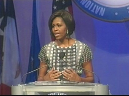 VIDEO of Michelle Obama adressing the NAACP