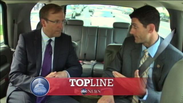 Video of Rep. Paul Ryan on Top Line