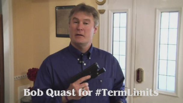 VIDEO: Iowa Independent U.S. senate candidate Bob Quast brandishes his glock pistol and makes some colorful statements in his first campign ad.