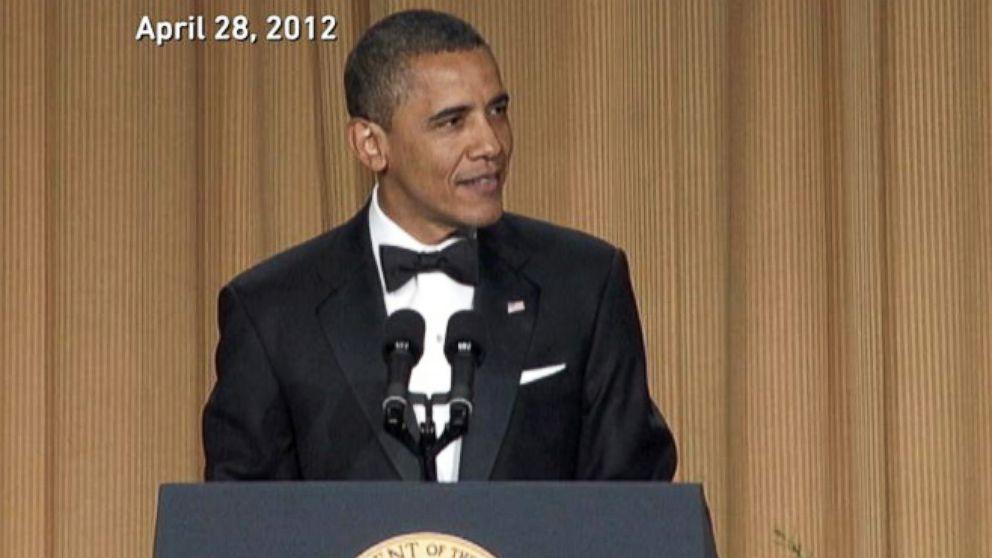President Obama's 10 Best Correspondents' Dinner Jokes