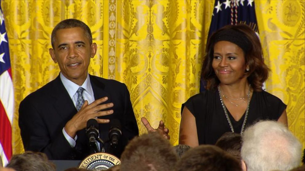 VIDEO: Obama Pokes Fun at Departing White House Pastry Chefs Addictive Treats