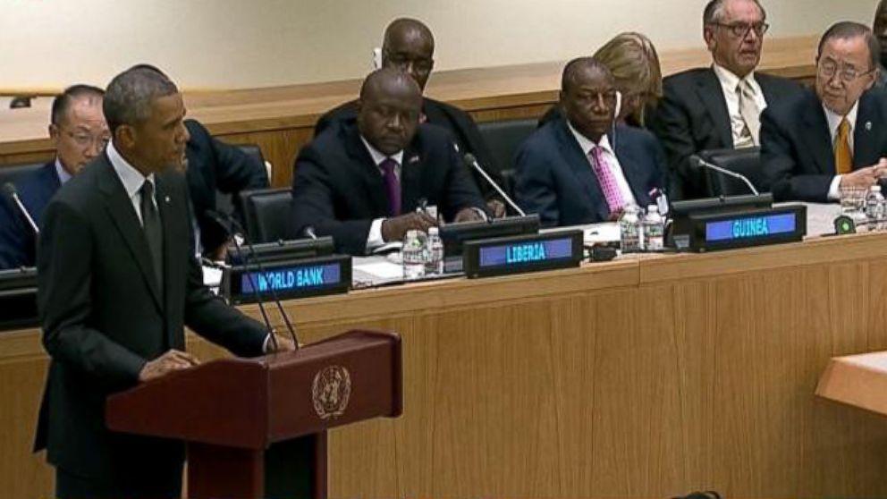 VIDEO: Obama Tackles Ebola at the U.N.