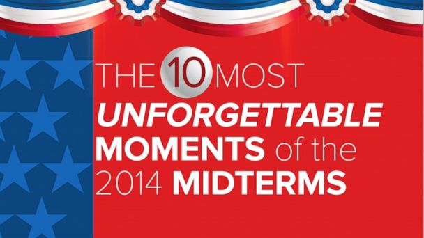 VIDEO: The 10 Most Unforgettable Moments of the 2014 Midterms
