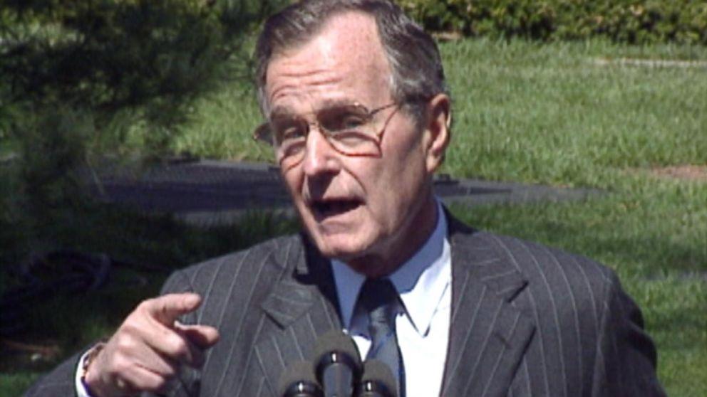 President Bush Bashes Broccoli in 1990 Video - ABC News