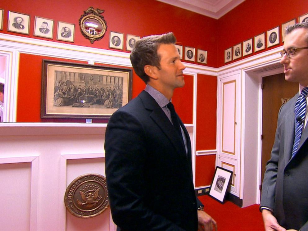 VIDEO: Aaron Schock Reveals Details About His Allegedly Downton Abbey-Inspired Office