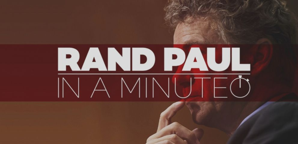 VIDEO: Rand Paul in a Minute: Everything You Need to Know