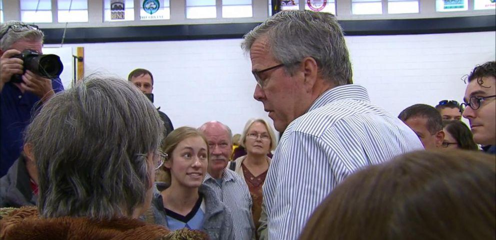 VIDEO: Young Democrat Confronts Jeb Bush in Nevada