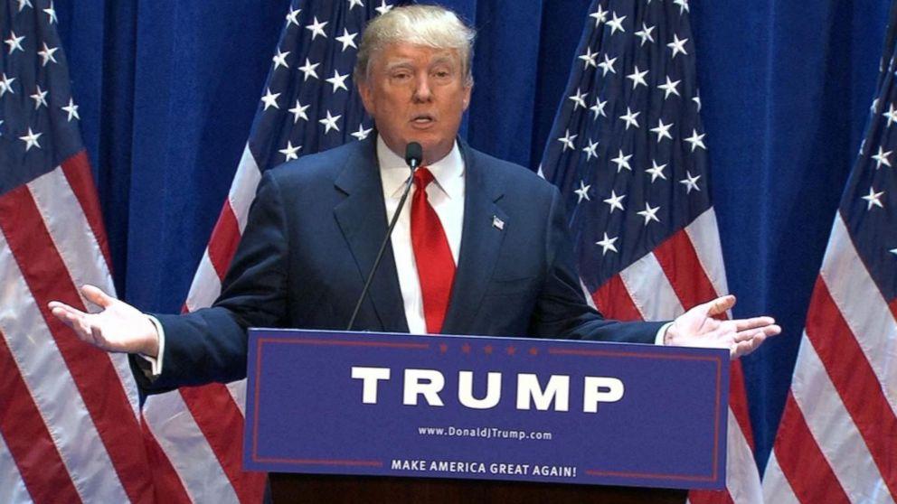 Donald Trump Announces His 2016 Presidential Bid Video ...