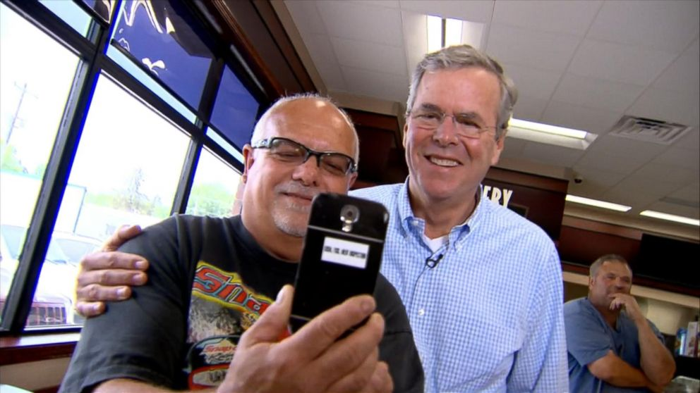VIDEO: Jeb Bushs Selfie Snafu