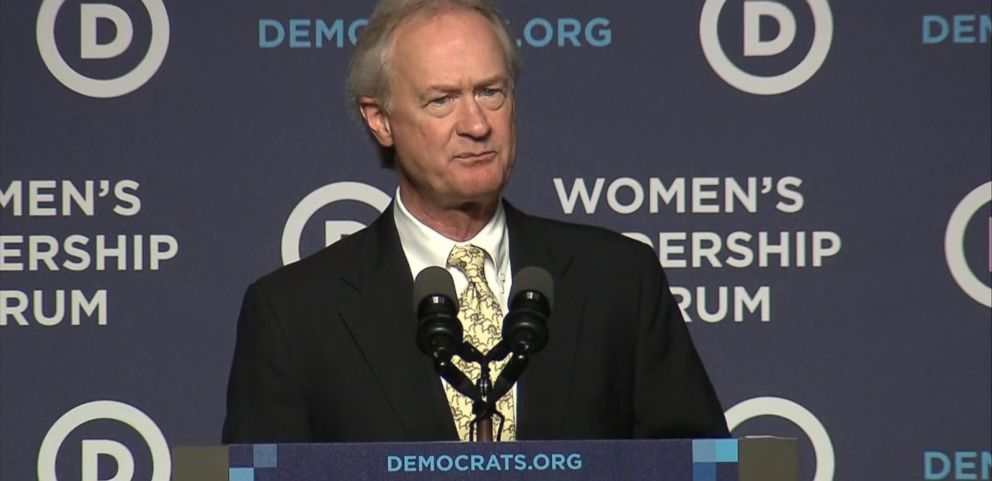 VIDEO: The former governor of Rhode Island made the announcement at the Democratic National Committees Forum on Womens Leadership in Washington, D.C.