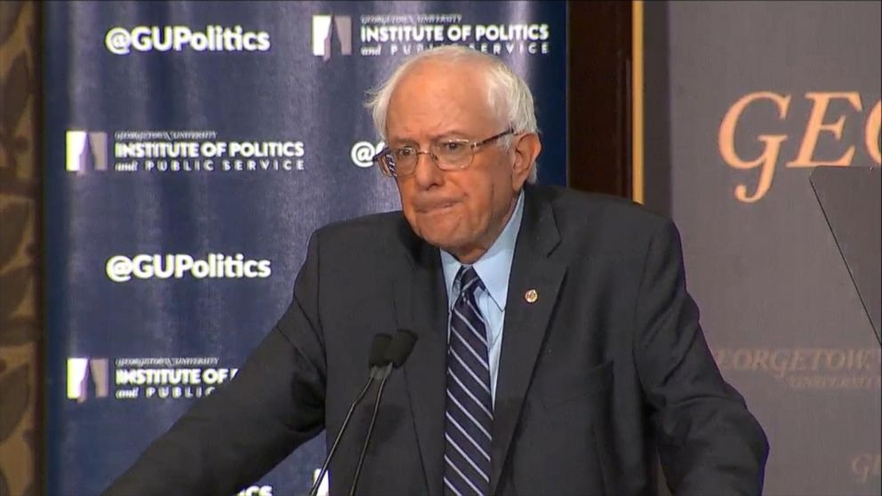 Bernie Sanders, channeling FDR, argues case for Democratic Socialism, pitches 'economic Bill of Rights'