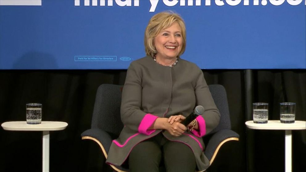 Hillary Clinton Asked About Paula Jones At Womens Economic Forum