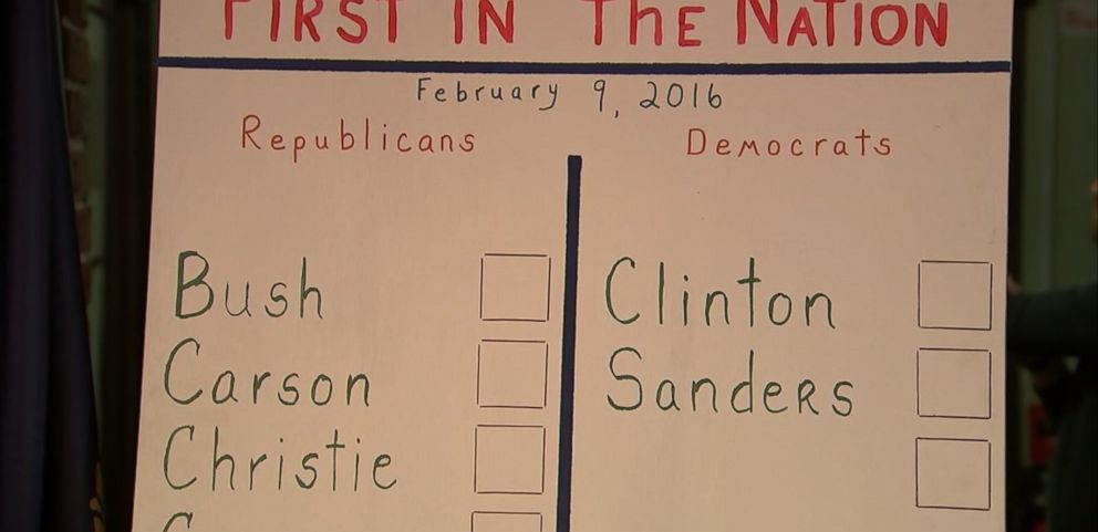 VIDEO: Dixville Notch Casts First Votes in New Hampshire Primary