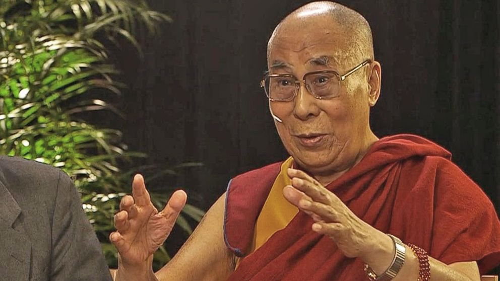 What The Dalai Lama Has To Say About Donald Trump Video Abc News