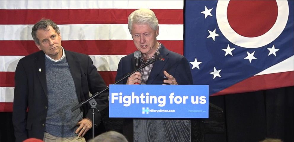 VIDEO: Bill Clinton Talks Trump Protests with Nelson Mandela Story