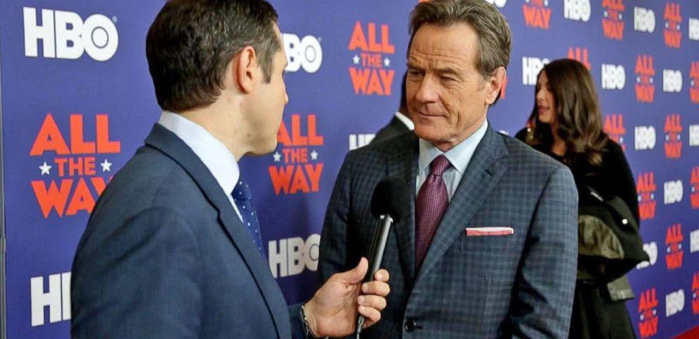 VIDEO: Actor Bryan Cranston Imagines LBJs Reaction to Donald Trump