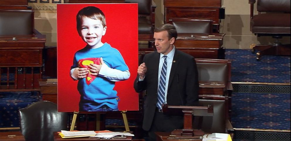 VIDEO: The filibuster, sparked by the Orlando nightclub shooting, was led by Sen. Chris Murphy of Connecticut.