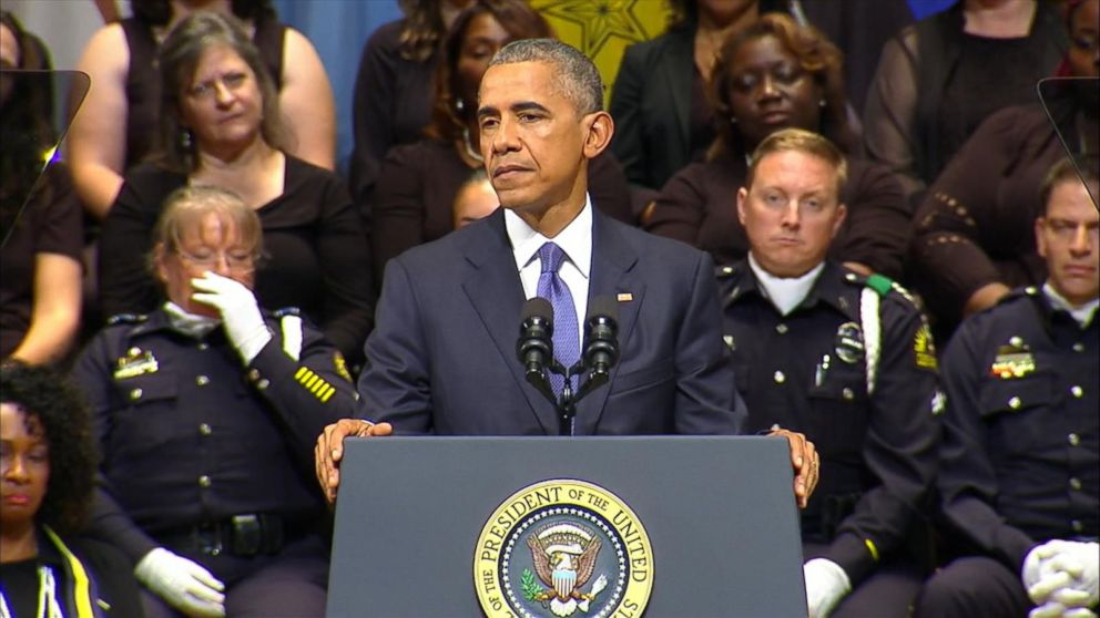 Obama Task Force Urges Improved Police >> Full Transcript Of President Obama S Speech At Dallas Police