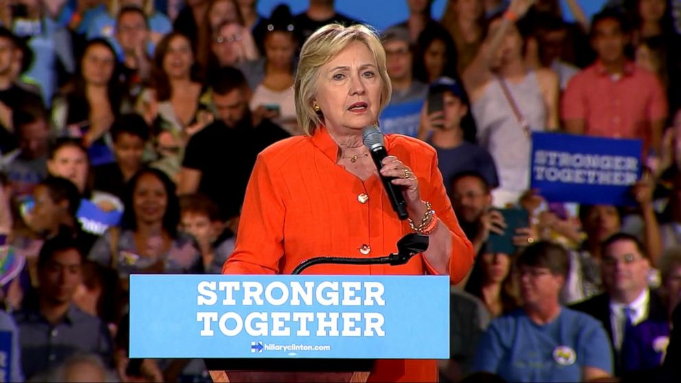 VIDEO: Hillary Clintons campaign responded to criticism that she did not reject the support of Seddique Mateen -- the father of Orlando shooter Omar Mateen -- who made headlines when he was seen sitting in the crowd at a Clinton rally in Florida.