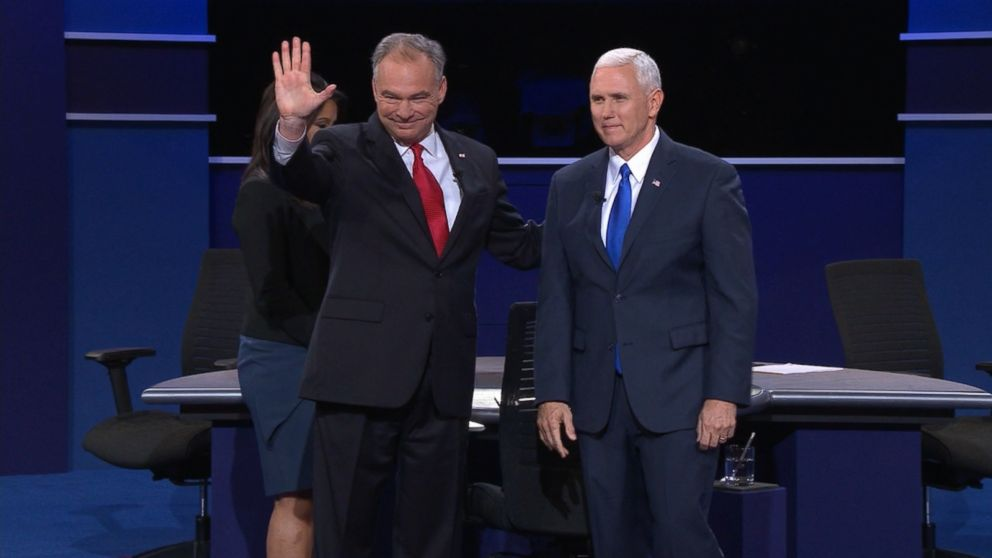 VIDEO: Sen. Tim Kaine and Gov. Mike Pence debated at Longwood University in Farmville, Virginia.