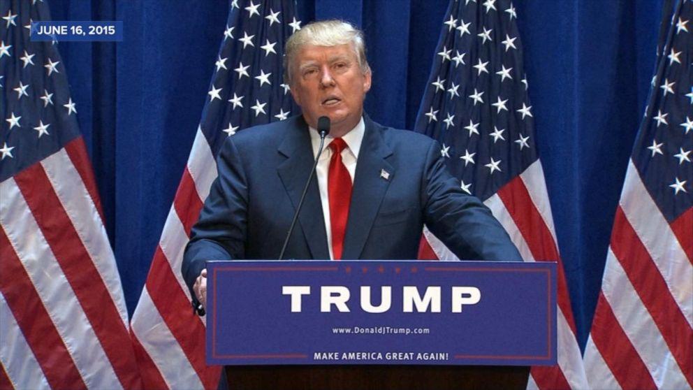 Election 2016: Donald Trump\'s key moments