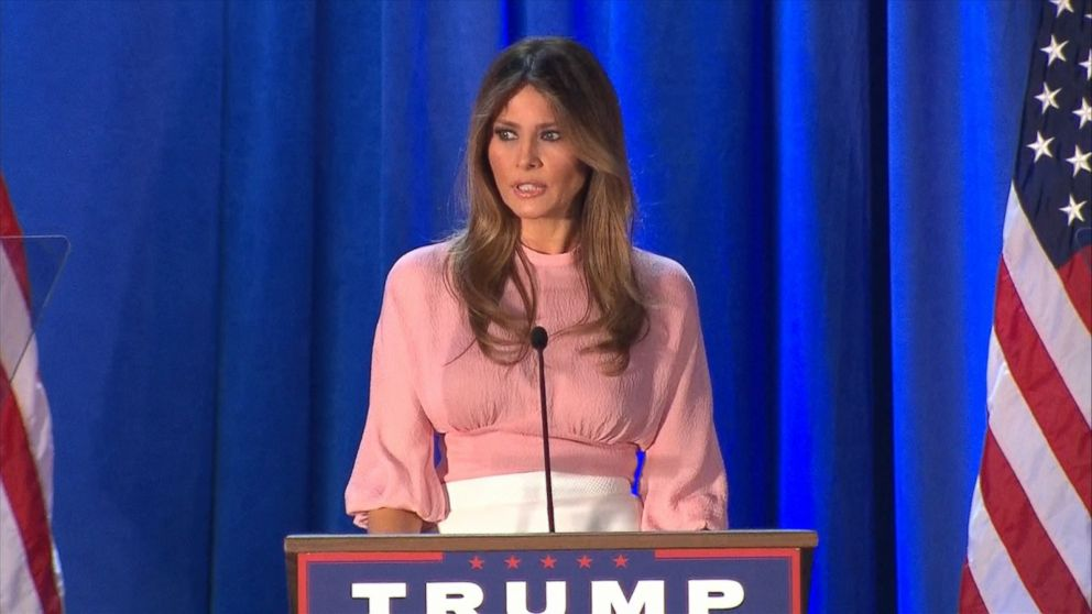 Melania Trump On Campaign Trail Donald Knows How To Make -1531