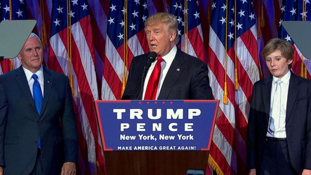 Donald Trump pulled off a stunning upset Tuesday night after capturing the presidency from Hillary Clinton by grabbing key battleground states and even snatching traditional Democratic strongholds from the former Secretary of State.