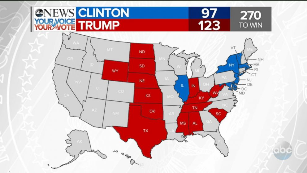 Map Of Texas Voting Results 2016.Texas Election Results Abc News