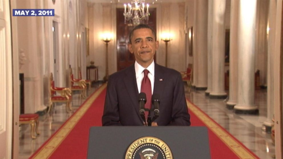 President Obama Announces the Death of Osama bin Laden in 2011