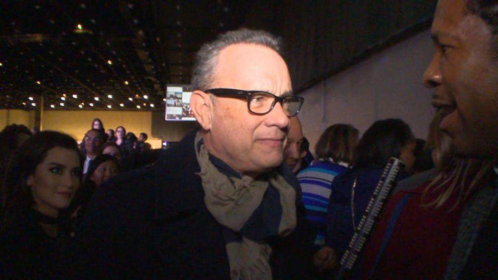 VIDEO: Tom Hanks Reacts to President Obamas Farewell Address