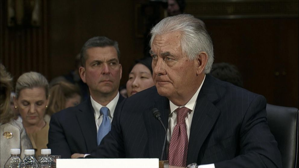VIDEO: Rex Tillerson Confirmation Highlights