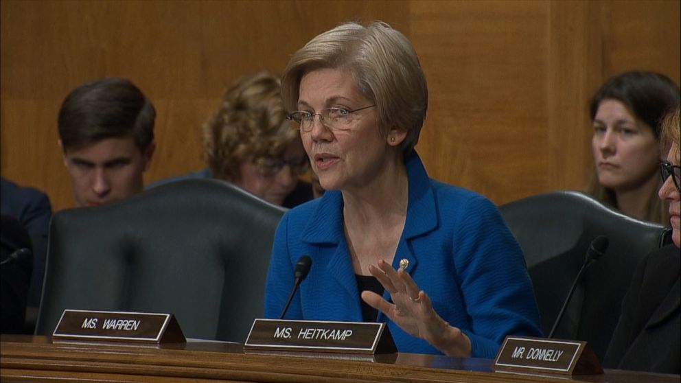 Video: Ben Carson and Sen. Elizabeth Warren Spar on Trump Question at Confirmation Hearing