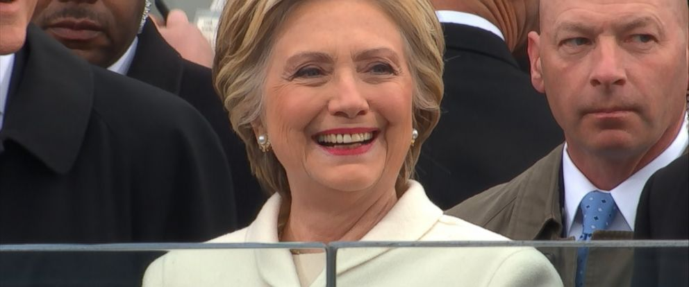 It was a bittersweet day for Hillary Clinton as she attended Inauguration Day for Donald Trump after a hard-fought presidential campaign.