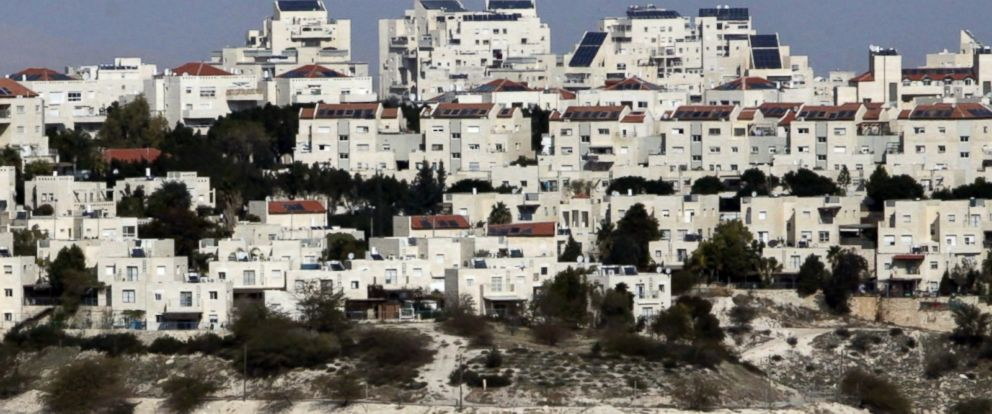 """VIDEO: The construction of new Israeli settlements """"may not be helpful in achieving"""" peace between Israelis and Palestinians, White House press secretary Sean Spicer said on Thursday."""