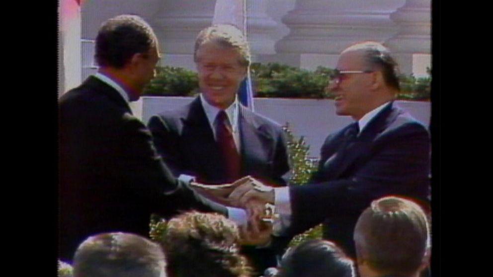 March 26 1979 Begin Sadat Sign The Egypt Israel Peace Treaty At
