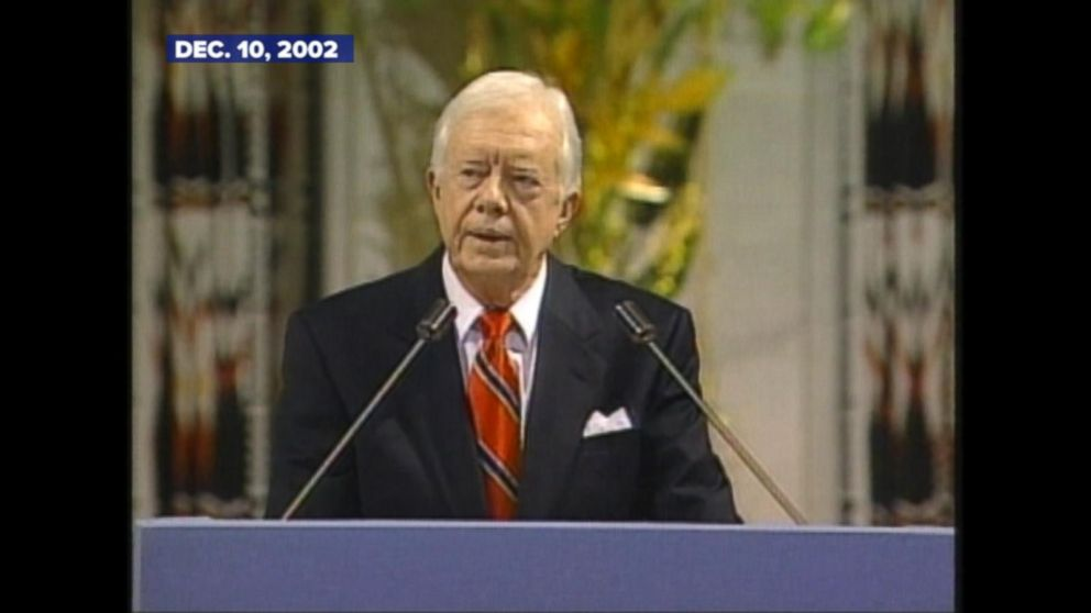 aristotelian criticism of jimmy carters speech James earl jimmy carter, jr (born october 1, 1924) was the 39th  carter  criticized mcgovern as being too liberal on both foreign and domestic policy   instead of delivering his planned speech, he went to camp david and for ten  days  physicians for social responsibility award, 1991 aristotle prize,.