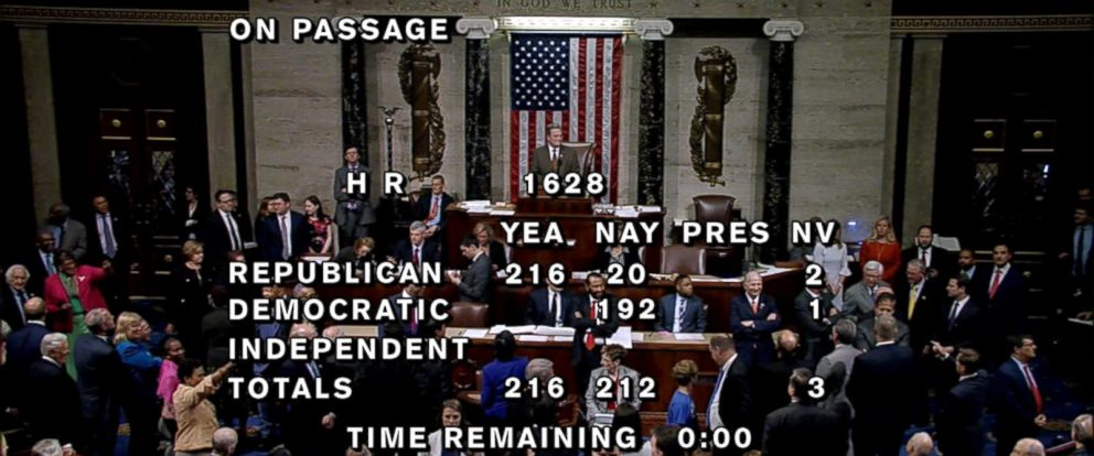 Democrats sang well-known taunt as apparent nod to the political price of vote.