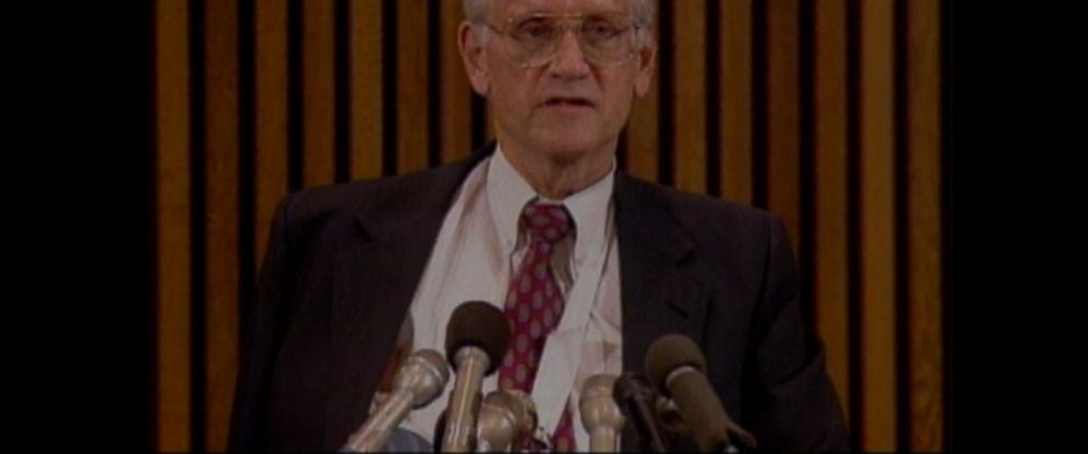 VIDEO: William Sessions was fired on the recommendation of Attorney General Janet Reno.