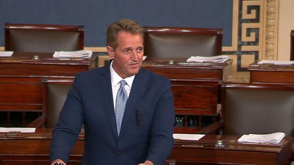 'Country over Party': GOP Sen. Jeff Flake writes check to Alabama Democrat Doug Jones