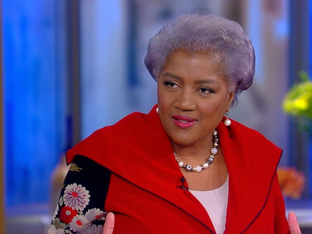 PHOTO: Donna Brazile as she appeared on the ABC program The View on Nov. 7, 2017.