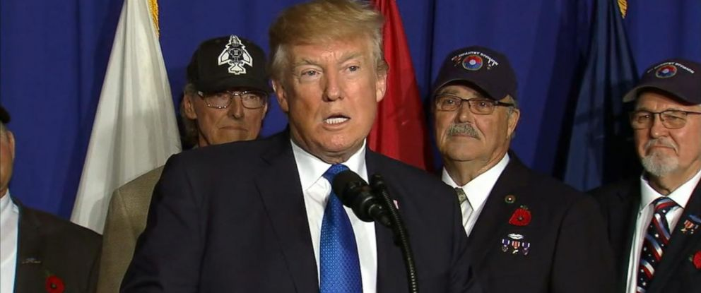VIDEO: The president met with several veterans from the Vietnam War on Friday.