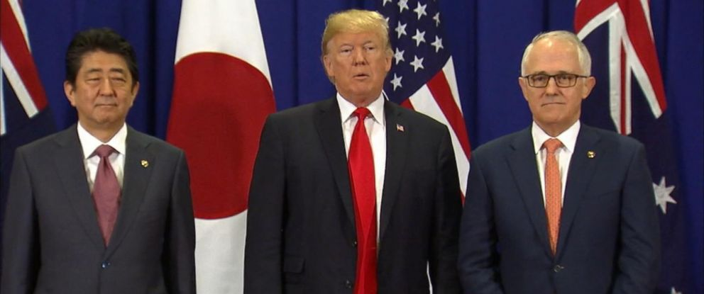 "VIDEO: President Trump says he will make a ""major"" announcement on North Korea and the outcome of his week-long trade negotiations across East Asia when he returns to Washington later this week."