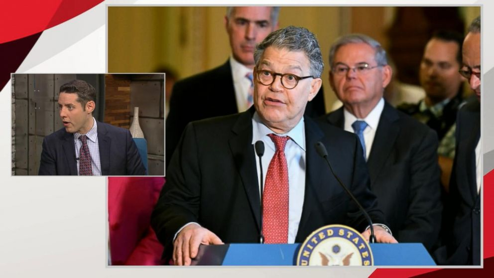 Democratic Senators Call For >> Franken To Make Announcement Thursday As Chorus Grows For His
