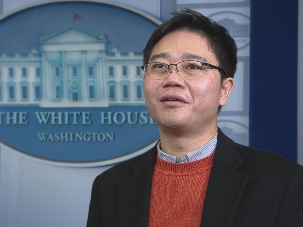 North Korean defector Ji Seong-ho spoke to ABC News about receiving a standing ovation at President Trumps first State of the Union address.